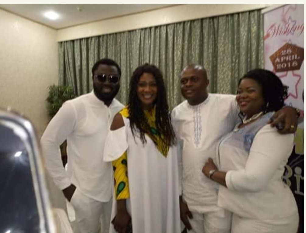 Photo of Actress Mercy Johnson steps out with hubby to Pastor Ofure's birthday party