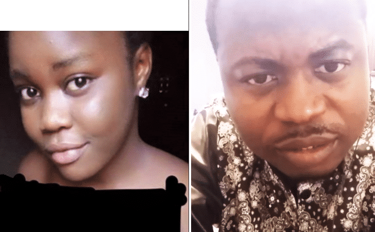 Photo of Nigerian man reveals face of lady who sent him nude picture