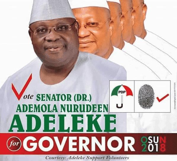 Photo of Davido's uncle, Senator Ademola Adeleke to contest for Osun State Governor