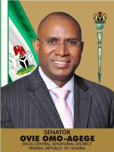 Photo of Senator Omo-Agege lead thugs to the senate, seize mace (photos)