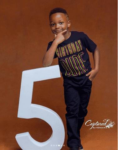 Andre marks 5th birthday