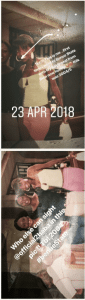 Annie Idibia's First Visit To 2face Home