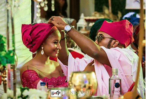 Photo of Nigerians are angry with Banky W and Adesua for outshinning Gabriel Afolayan and his bride