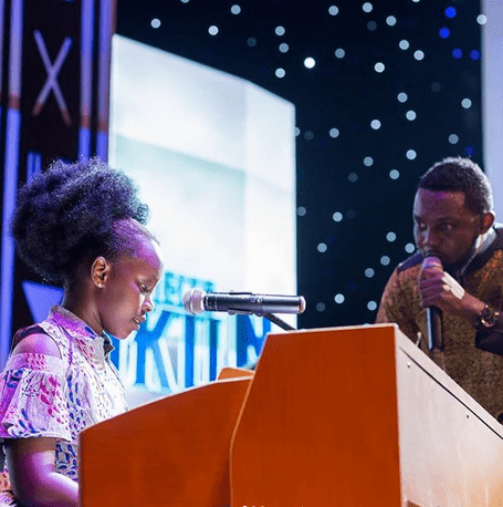 Photo of How Comedian AY's daughter and 2face Idibia wowed guests at AY Live 2018 (photos)