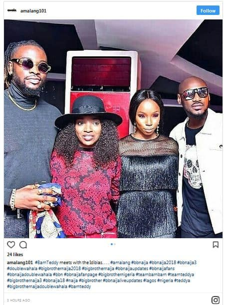 Photo of 2face and Annie Idibia attend Bambam and Teddy A's eviction party (photos)