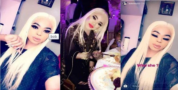 Photo of Bobrisky's new look will leave you in shock