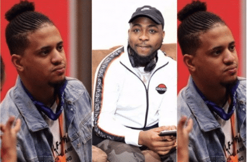 Photo of Davido reacts to Rico Swavey's eviction from the Big Brother show
