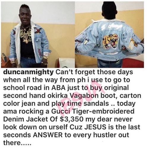 Singer Duncanmighty