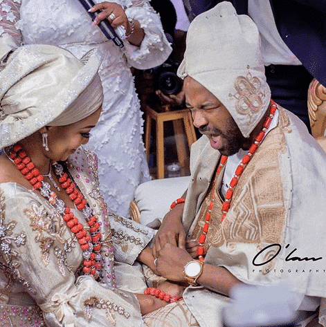 Photo of More photos from the traditional wedding of Actor Gabriel Afolayan and his bride, Adebanke