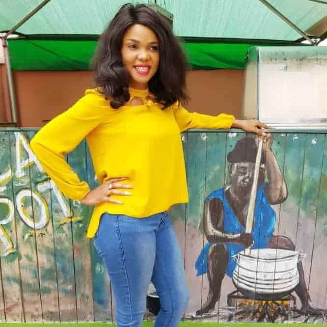 Photo of Actress Iyabo Ojo turns roadside Mechanic (photos)