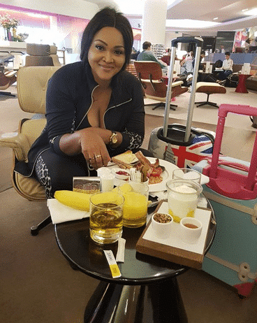 Mercy Aigbe and her kids
