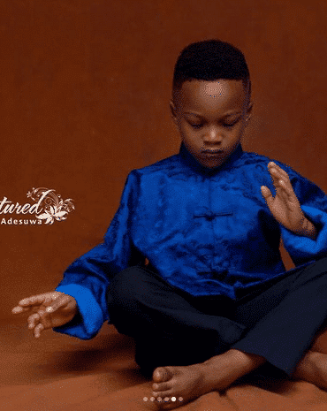 Photo of Paul and Anita Okoye's first son, Andre marks 5th birthday with new photos