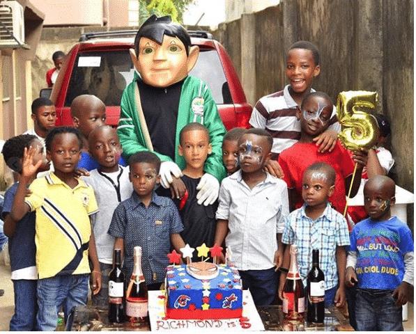 Photo of Ronke Oshodi Oke throws lavish birthday bash for 5 year old son