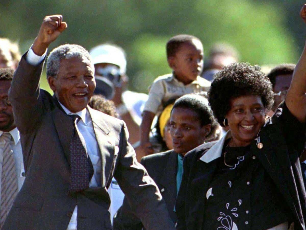 Winnie Mandela's grand funeral