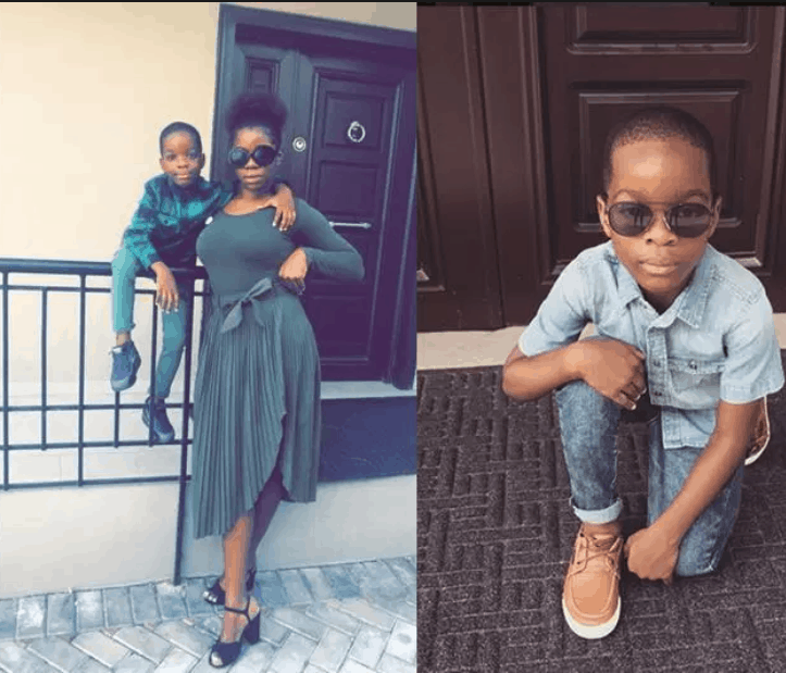 Photo of Wizkid's first baby mama solicits for their son's lesson fees (Photos)