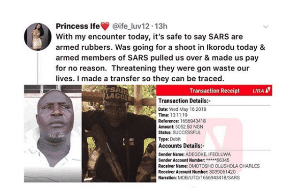 Photo of Police apprehend SARS officer who extorted lady in Lagos