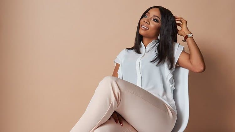 Photo of Toke Makinwa can't keep calm as she gets featured on CNN (photos)