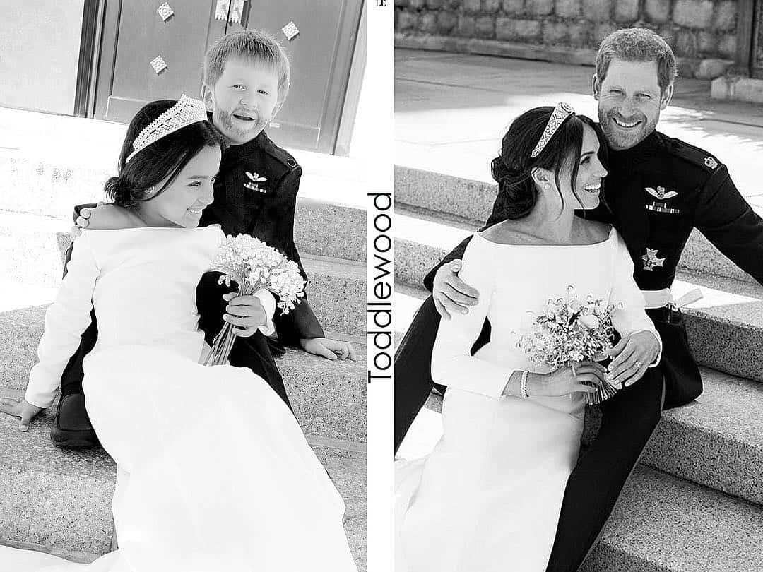 Photo of Adorable kids recreate Prince Harry & Meghan Markle's royal wedding looks (photos)