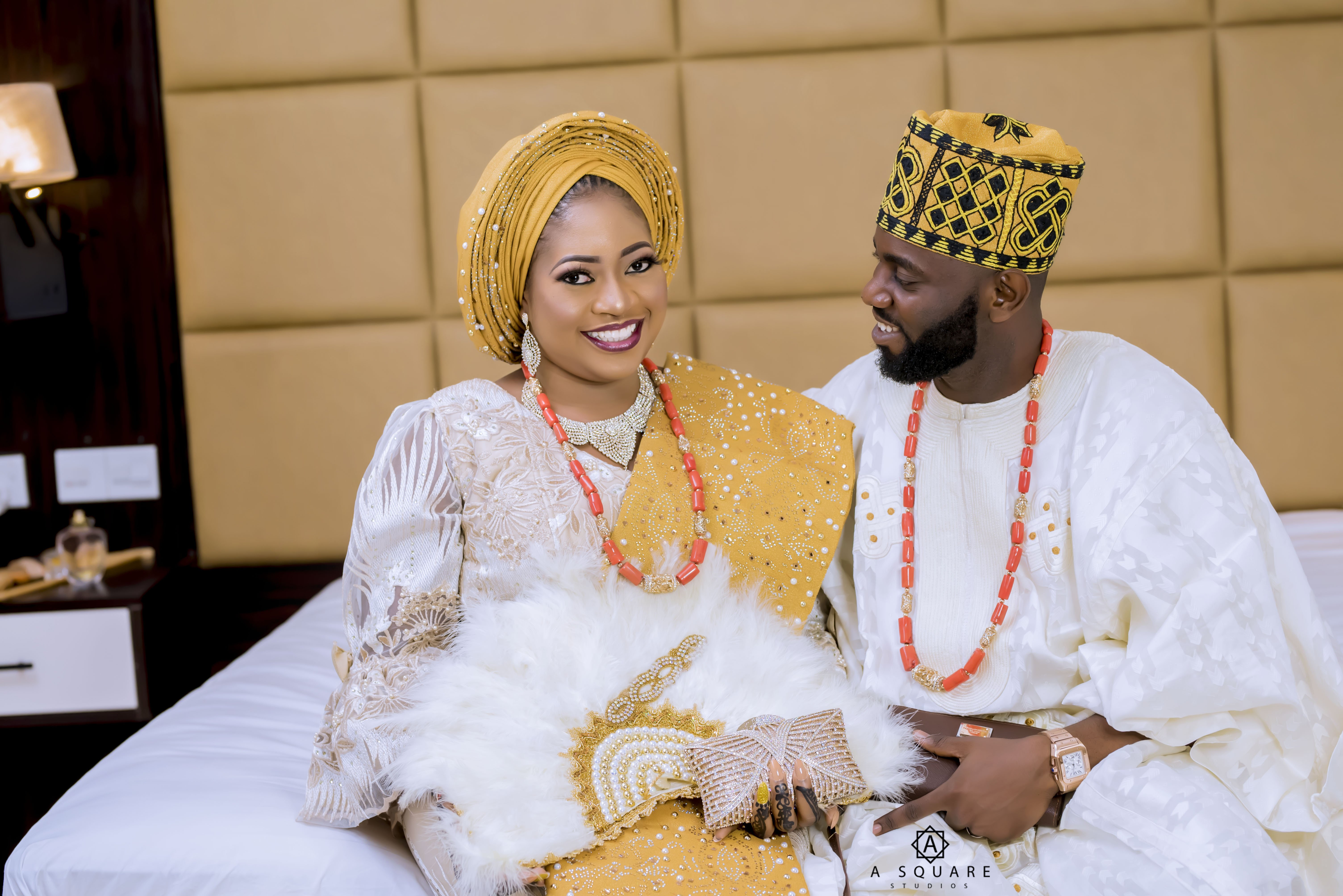 Photo of The photographer and his muse! Moments from Mayowa and Olamide's wedding…