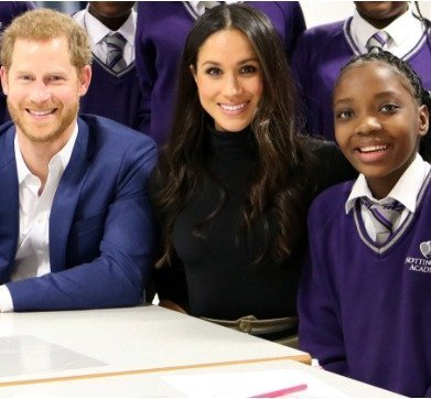 Photo of Meet the 13-year-old schoolgirl invited to Meghan and Prince Harry's Royal Wedding