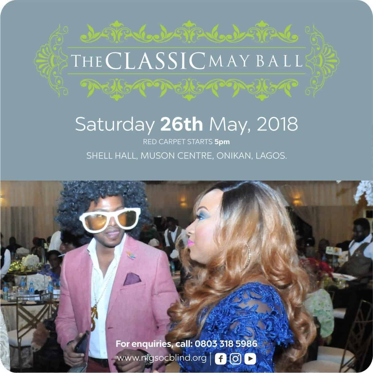 "Photo of Support the Federal Nigeria Society for the Blind at the ""The Classic May Ball"" 