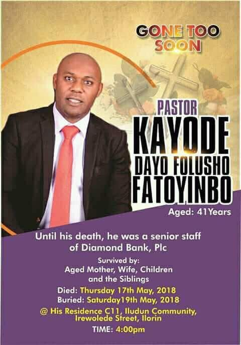 Photo of Pastor Fatoyinbo dies after hospitals rejection