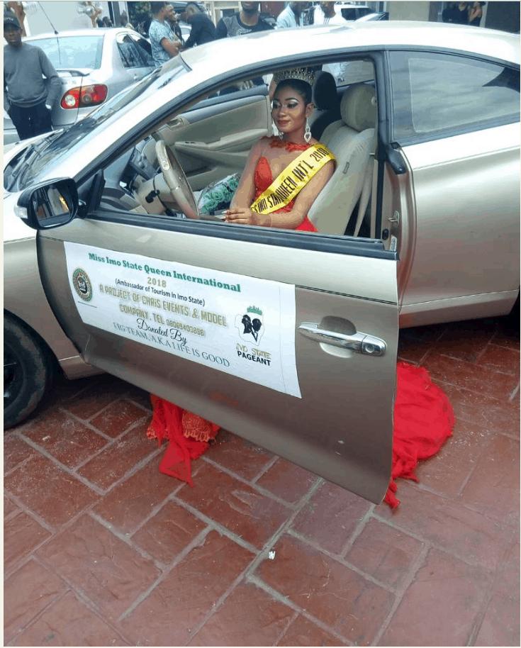 Photo of Ohaegbulam Jennifer Wins Miss Imo State Queen International 2018