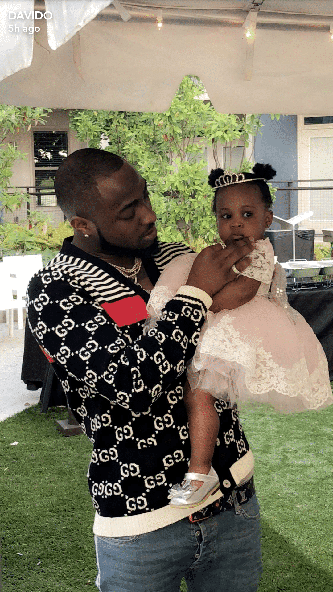 Photo of Photos from Davido's daughter, Hailey's first birthday party in Atlanta