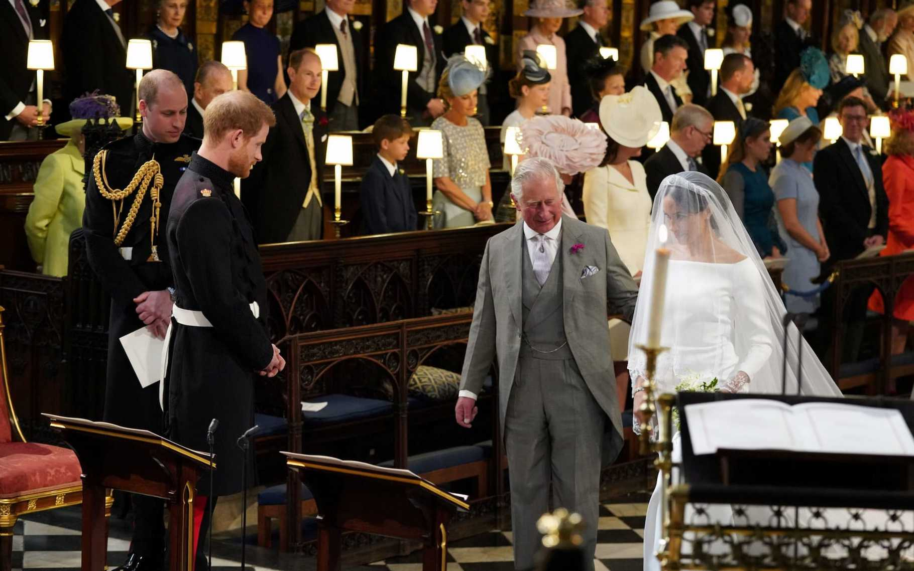 Photo of Royal Wedding: How Meghan Markle's mom watched with pride as her daughter and Prince Harry exchanged vows (photos)