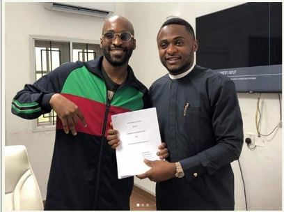 Photo of Son of Nigeria Oil Minister, Ibe Kachukwu joins Ubi Franklin's Record Label