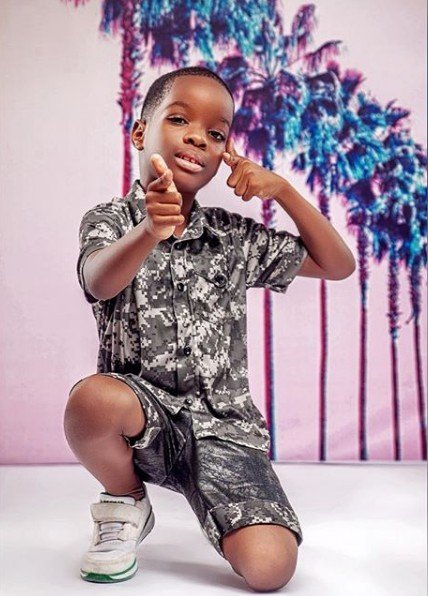 Wizkid's first son, Boluwatife Balogun becomes a CEO at 7