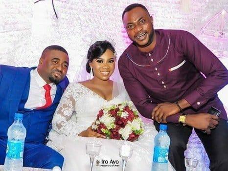 Photo of Odunlade Adekola, Mide Martins, others present as pregnant actress, Wunmi Toriola weds her lover