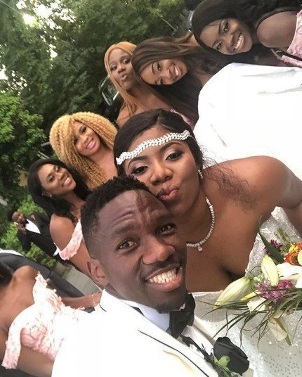 Photo of Photos from the white wedding of Super Eagles player, Kenneth Omeruo, in Istanbul