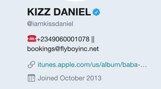 Kiss Daniel now to be known as Kizz Daniel