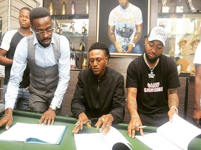 Davido unveils new act, Idowest, to his DMW record label