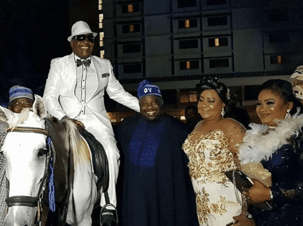 Photo of Sir Shina Peters makes grand entry at his 60th birthday party