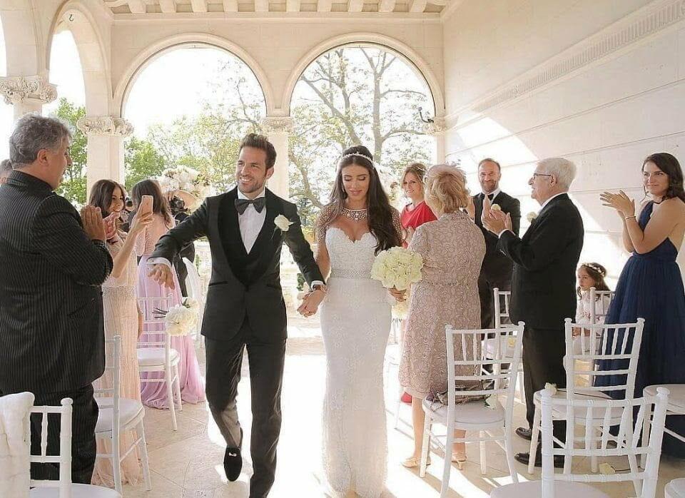 Cesc Fabregas weds Daniella Semaan, a mother of five