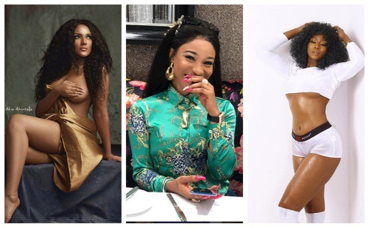 Photo of Tonto Dikeh offers Gifty Powers N1M for blasting Lilian Afegbai over cosmetic surgery
