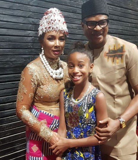 Ibinabo Fiberesima celebrates her ex-husband Fred Amata on his birthday