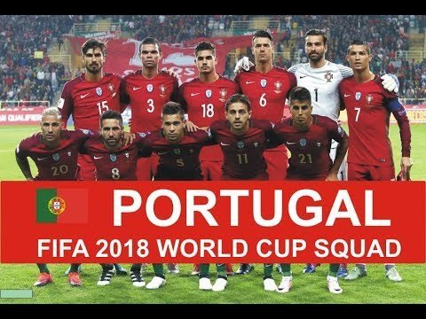 Portugal 23 Man Squad For Russia 2018 World Cup