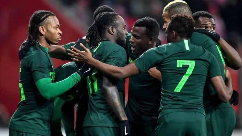 Photo of Super Eagles squad for match against Atletico Madrid released