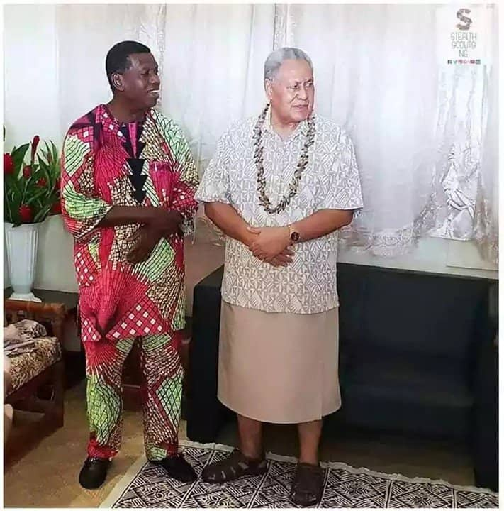 Photo of Pastor Adeboye visits Samao, Head of State and Others give life to Christ