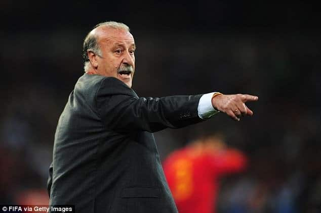 No Liverpool player can make Real Madrid's first eleven - Vincente Del Bosque