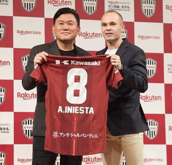 Photo of Barcelona legend, Andres Iniesta joins Japanese club, Vissel Kobe