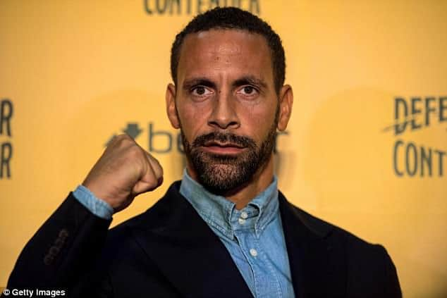 Photo of Rio Ferdinand hangs his gloves after application for boxing licence was disproved
