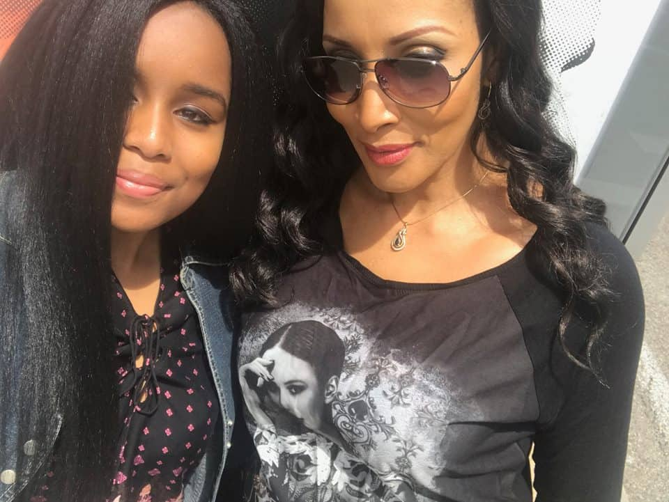 Bianca Ojukwu looks stunning as she celebrates her daughter on her birthday in Spain