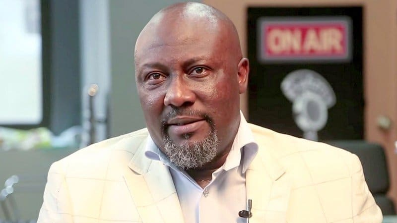 Photo of Senator Dino Melaye decamps from APC to PDP