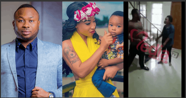 Photo of Olakunle Churchill accuses Tonto Dikeh of depriving him of their son, King