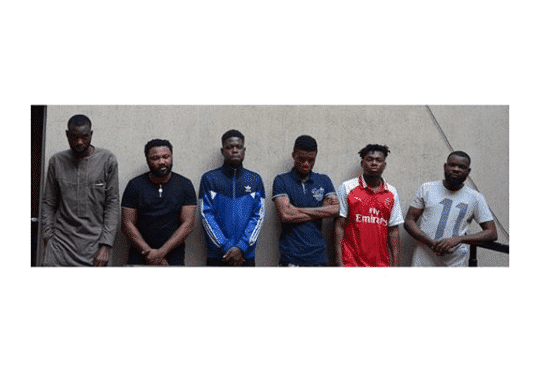 Photo of EFCC arrests six yahoo boys in Abuja