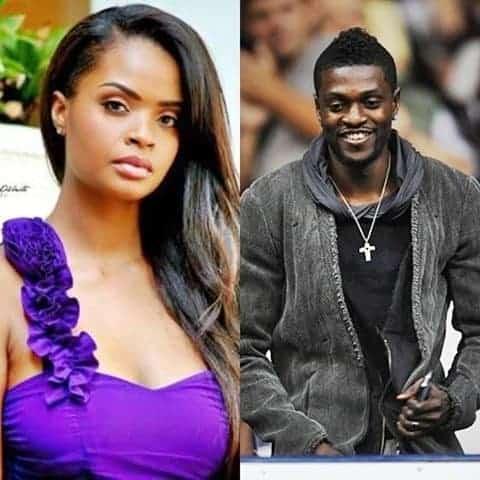 Photo of Dillish Mathews and Emmanuel Adebayor unfollow each other amidst breakup rumors